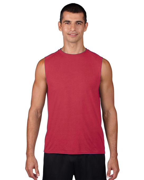 Koszulka Performence Sleeveless Adult GILDAN 42700 - Gildan_42700_06 - Kolor: Red