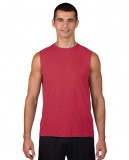 Koszulka Performence Sleeveless Adult GILDAN 42700 - Gildan_42700_06 Red