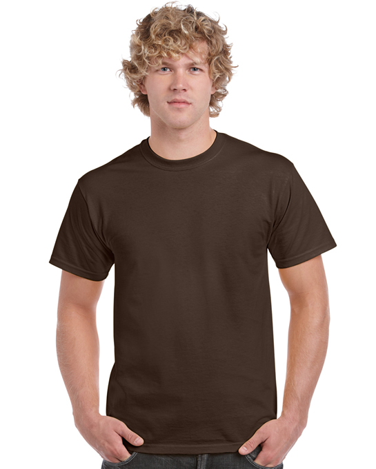 Koszulka Heavy Cotton Adult GILDAN 5000 - Gildan_5000_14 - Kolor: Dark chocolate