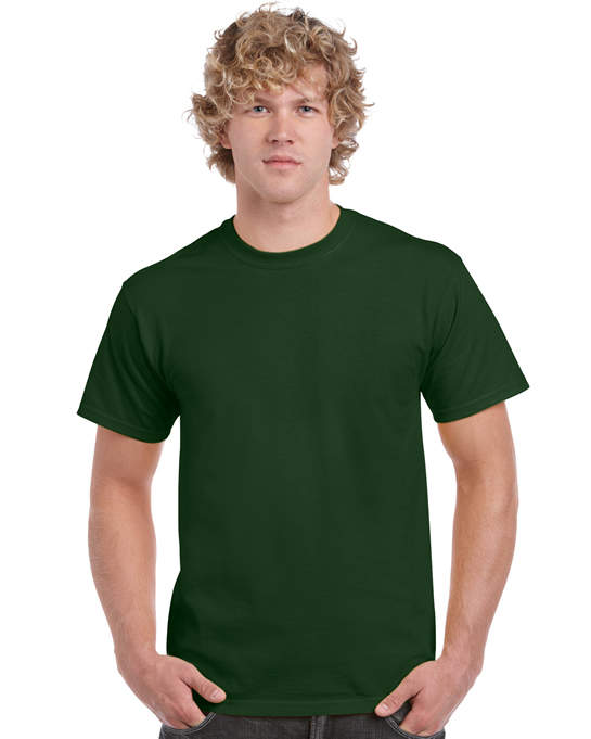 Koszulka Heavy Cotton Adult GILDAN 5000 - Gildan_5000_15 - Kolor: Forest green