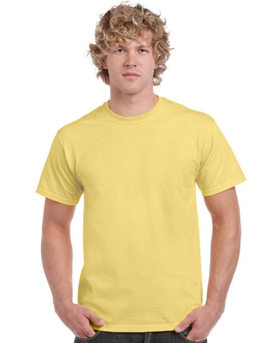 Koszulka Heavy Cotton Adult GILDAN 5000 - Gildan_5000_48 - Kolor: Cornsilk