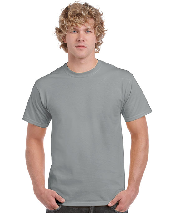 Koszulka Heavy Cotton Adult GILDAN 5000 - Gildan_5000_54 - Kolor: Ice grey