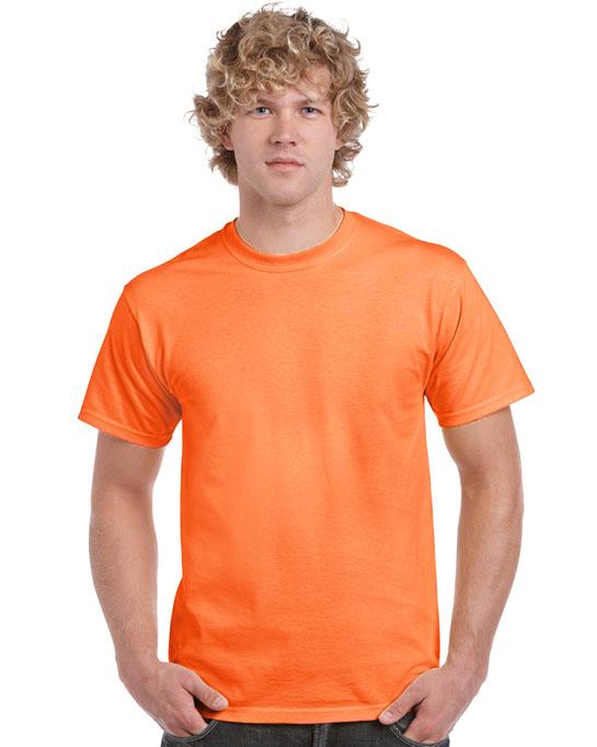 Koszulka Heavy Cotton Adult GILDAN 5000 - Gildan_5000_57 - Kolor: Safety orange