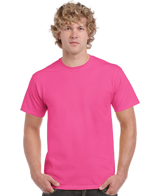 Koszulka Heavy Cotton Adult GILDAN 5000 - Gildan_5000_58 - Kolor: Safety pink