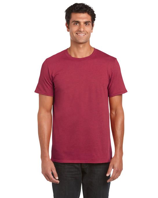 Koszulka Softstyle Adult GILDAN 64000 - Gildan_64000_01 - Kolor: Antique cherry red