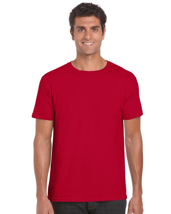Koszulka Softstyle Adult GILDAN 64000 - Gildan_64000_07 - Kolor: Cherry red