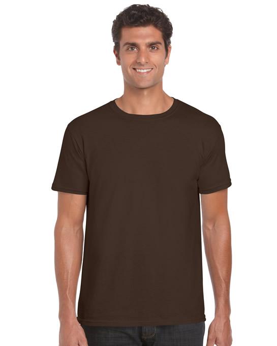Koszulka Softstyle Adult GILDAN 64000 - Gildan_64000_11 - Kolor: Dark chocolate