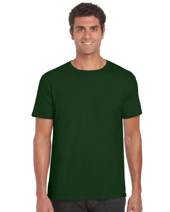 Koszulka Softstyle Adult GILDAN 64000 - Gildan_64000_13 - Kolor: Forest green