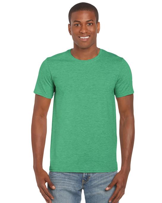 Koszulka Softstyle Adult GILDAN 64000 - Gildan_64000_14 - Kolor: Heather irish green