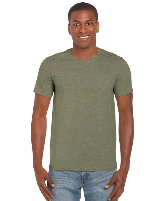 Koszulka Softstyle Adult GILDAN 64000 - Gildan_64000_16 - Kolor: Heather military green