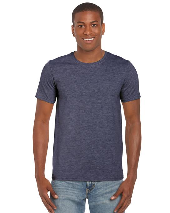 Koszulka Softstyle Adult GILDAN 64000 - Gildan_64000_17 - Kolor: Heather navy