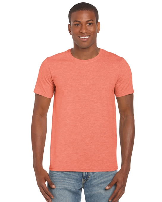 Koszulka Softstyle Adult GILDAN 64000 - Gildan_64000_18 - Kolor: Heather orange