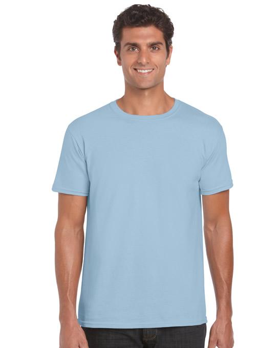 Koszulka Softstyle Adult GILDAN 64000 - Gildan_64000_25 - Kolor: Light blue