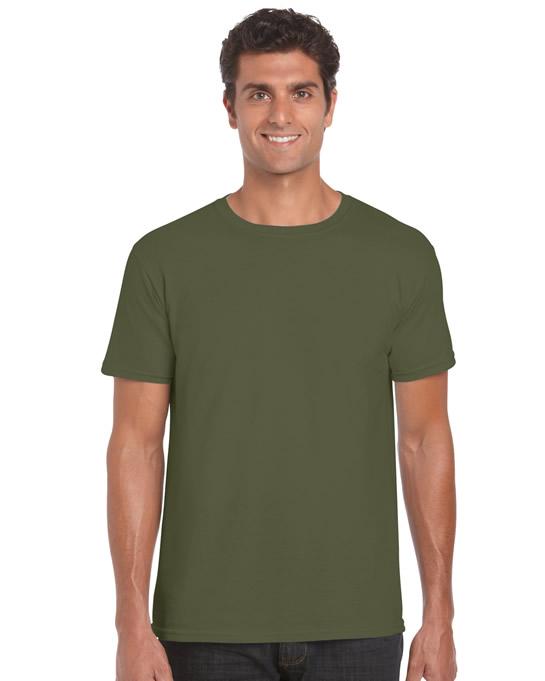 Koszulka Softstyle Adult GILDAN 64000 - Gildan_64000_26 - Kolor: Military green