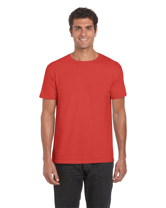 Koszulka Softstyle Adult GILDAN 64000 - Gildan_64000_29 - Kolor: Paprika