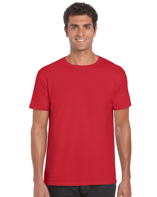 Koszulka Softstyle Adult GILDAN 64000 - Gildan_64000_31 - Kolor: Red