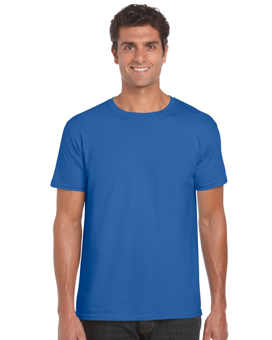 Koszulka Softstyle Adult GILDAN 64000 - Gildan_64000_32 - Kolor: Royal blue