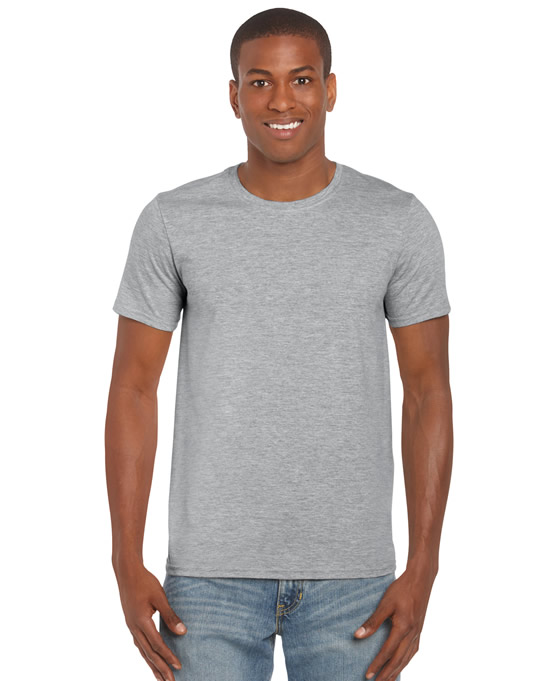 Koszulka Softstyle Adult GILDAN 64000 - Gildan_64000_33 - Kolor: Sport grey