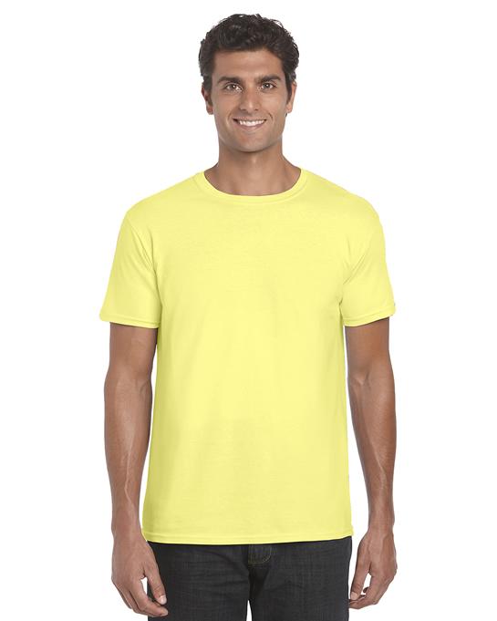 Koszulka Softstyle Adult GILDAN 64000 - Gildan_64000_09 - Kolor: Cornsilk