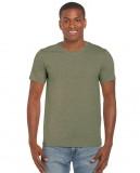 Koszulka Softstyle Adult GILDAN 64000 - Gildan_64000_16 Heather military green