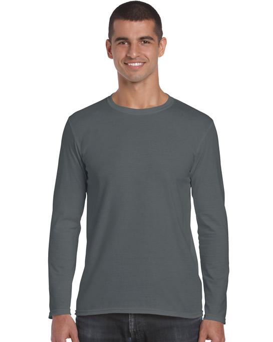 Koszulka Softstyle Long Sleeve Adult GILDAN 64400 - Gildan_64400_02 - Kolor: Charcoal