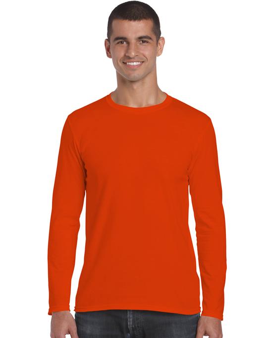 Koszulka Softstyle Long Sleeve Adult GILDAN 64400 - Gildan_64400_04 - Kolor: Orange