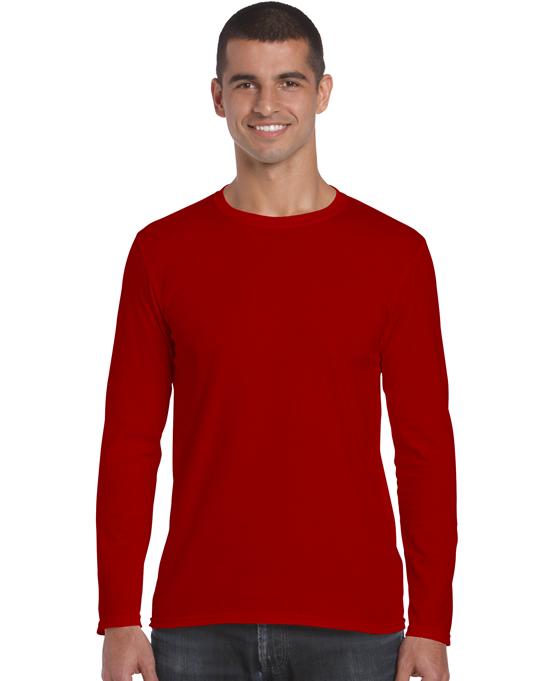 Koszulka Softstyle Long Sleeve Adult GILDAN 64400 - Gildan_64400_05 - Kolor: Red