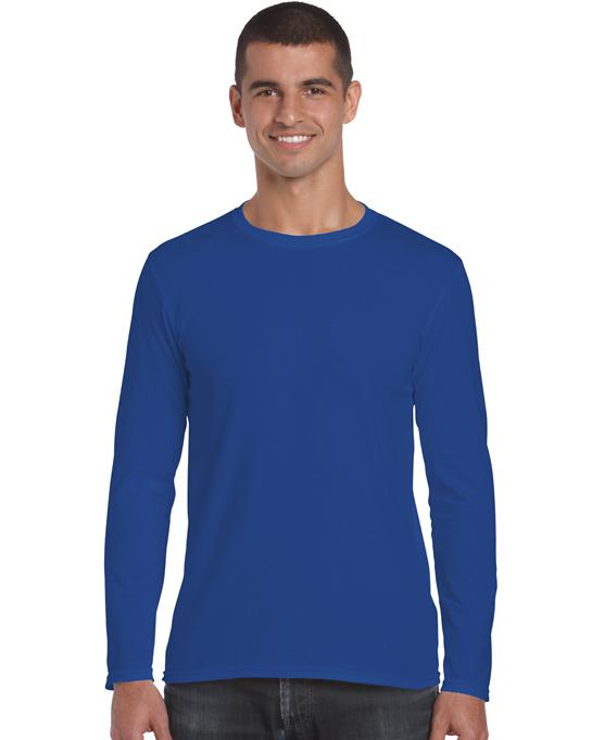 Koszulka Softstyle Long Sleeve Adult GILDAN 64400 - Gildan_64400_06 - Kolor: Royal blue