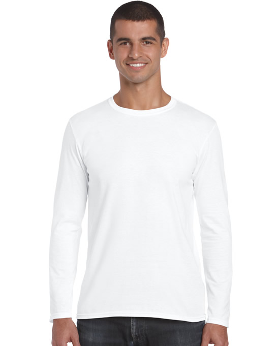 Koszulka Softstyle Long Sleeve Adult GILDAN 64400 - Gildan_64400_08 - Kolor: White