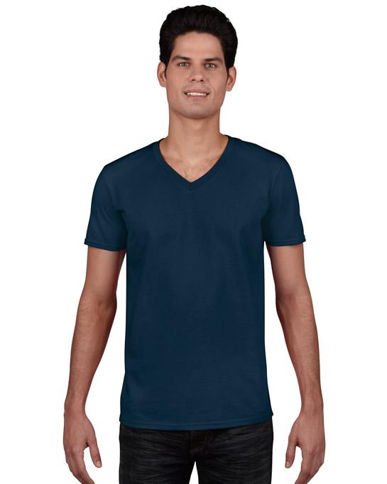 Koszulka Softstyle V-neck Adult GILDAN 64V00 - Gildan_64V00_07 - Kolor: Navy