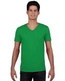 Koszulka Softstyle V-neck Adult GILDAN 64V00 - Gildan_64V00_06 Irish green