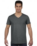 Koszulka Softstyle V-neck Adult GILDAN 64V00 - Gildan_64V00_04 Dark heather