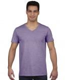 Koszulka Softstyle V-neck Adult GILDAN 64V00 - Gildan_64V00_05 Heather purple