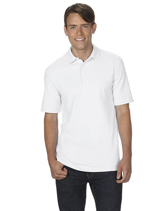 Koszulka Polo DryBlend Double Pique Adult GILDAN 75800 - Gildan_75800_13 - Kolor: White