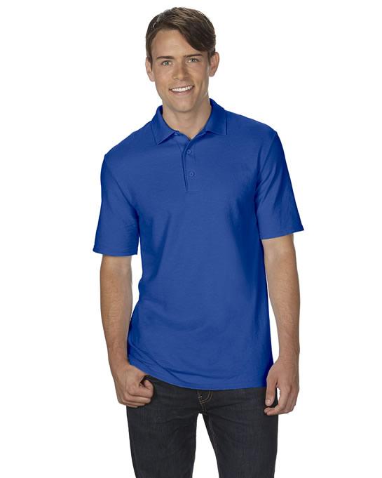Koszulka Polo DryBlend Double Pique Adult GILDAN 75800 - Gildan_75800_09 - Kolor: Royal blue