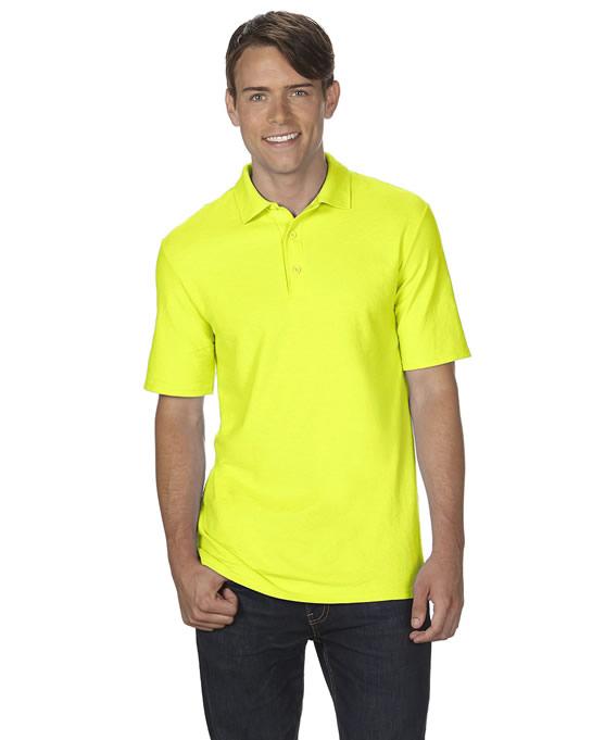 Koszulka Polo DryBlend Double Pique Adult GILDAN 75800 - Gildan_75800_11 - Kolor: Safety green