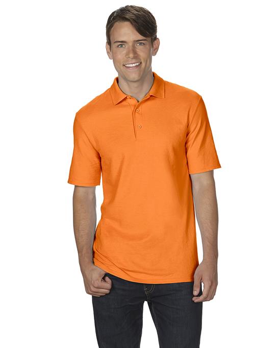Koszulka Polo DryBlend Double Pique Adult GILDAN 75800 - Gildan_75800_12 - Kolor: Safety orange