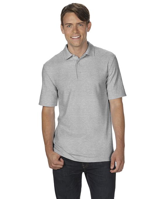Koszulka Polo DryBlend Double Pique Adult GILDAN 75800 - Gildan_75800_10 - Kolor: Sport grey