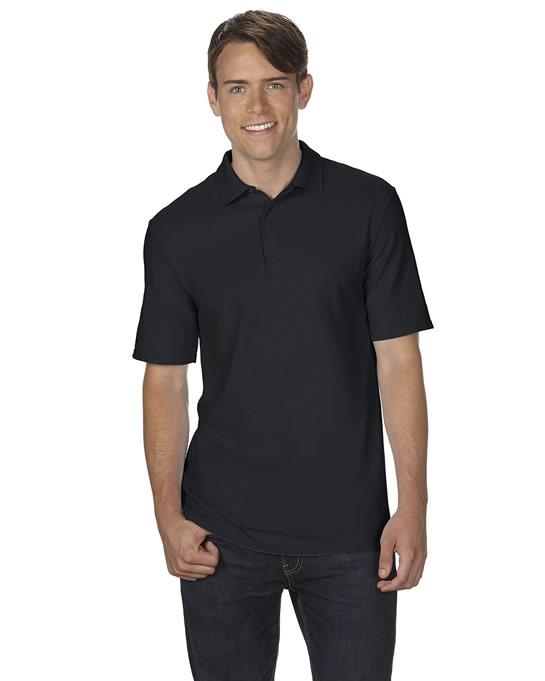 Koszulka Polo DryBlend Double Pique Adult GILDAN 75800 - Gildan_75800_01 - Kolor: Black