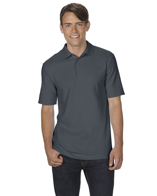 Koszulka Polo DryBlend Double Pique Adult GILDAN 75800 - Gildan_75800_02 - Kolor: Charcoal