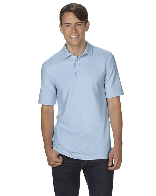 Koszulka Polo DryBlend Double Pique Adult GILDAN 75800 - Gildan_75800_04 - Kolor: Light blue