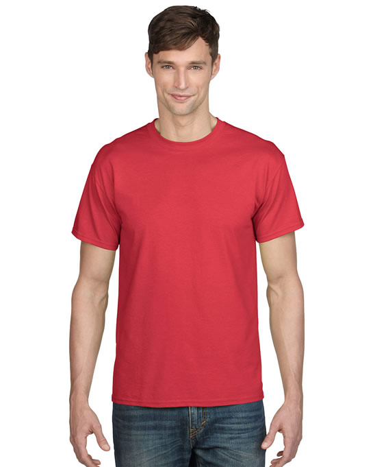 Koszulka DryBlend Classic Fit Adult GILDAN 8000 - Gildan_8000_05 - Kolor: Red