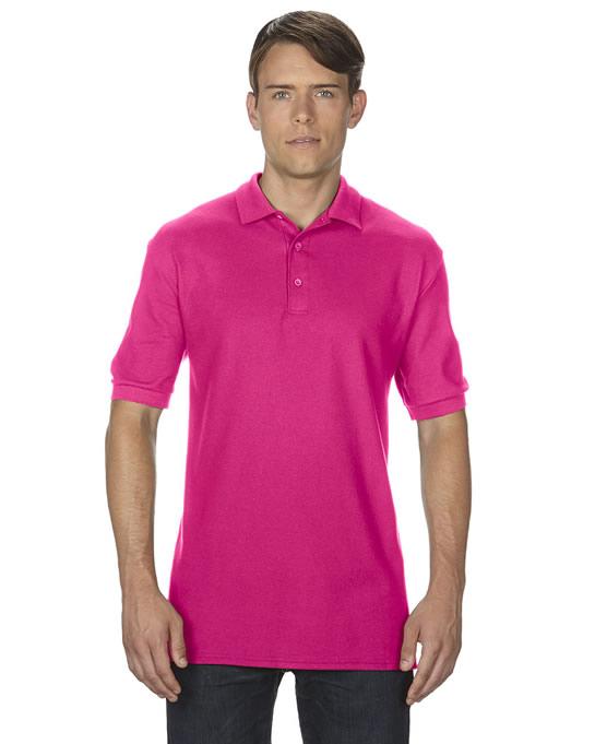 Koszulka Polo Premium Cotton Double Pique Adult GILDAN 85800 - Gildan_85800_01 - Kolor: Heliconia