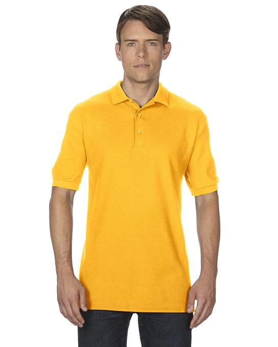 Koszulka Polo Premium Cotton Double Pique Adult GILDAN 85800 - Gildan_85800_02 - Kolor: Gold