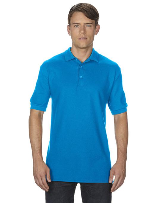 Koszulka Polo Premium Cotton Double Pique Adult GILDAN 85800 - Gildan_85800_03 - Kolor: Sapphire