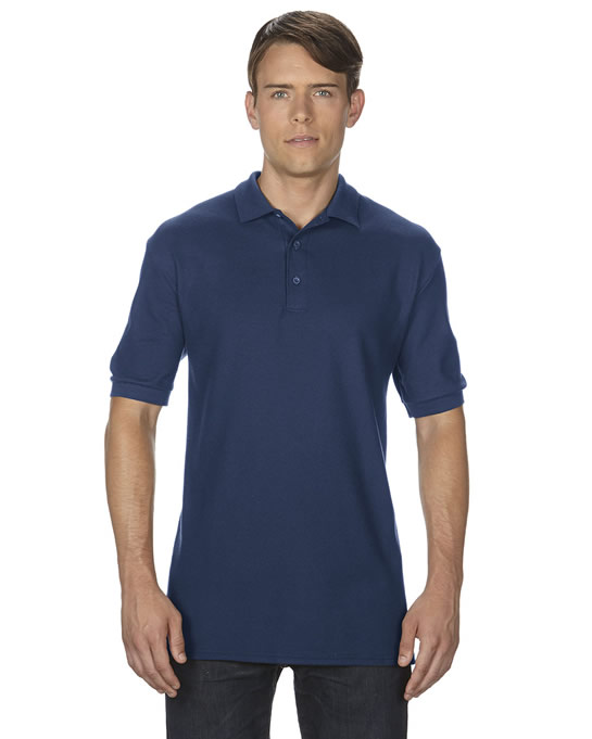 Koszulka Polo Premium Cotton Double Pique Adult GILDAN 85800 - Gildan_85800_05 - Kolor: Navy