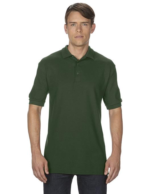 Koszulka Polo Premium Cotton Double Pique Adult GILDAN 85800 - Gildan_85800_06 - Kolor: Forest green