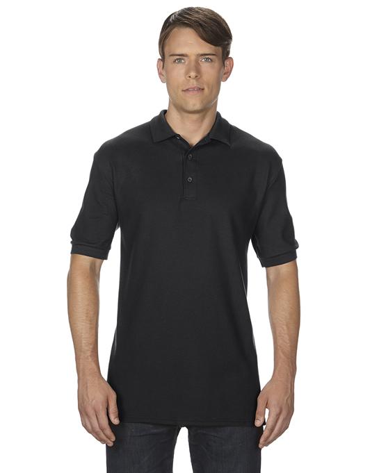 Koszulka Polo Premium Cotton Double Pique Adult GILDAN 85800 - Gildan_85800_08 - Kolor: Black