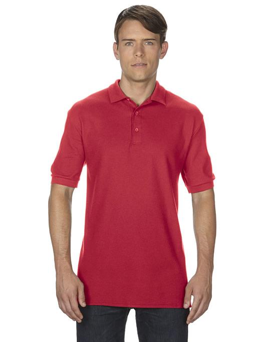 Koszulka Polo Premium Cotton Double Pique Adult GILDAN 85800 - Gildan_85800_10 - Kolor: Red