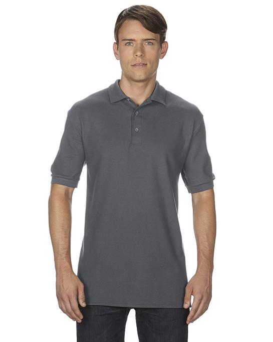 Koszulka Polo Premium Cotton Double Pique Adult GILDAN 85800 - Gildan_85800_11 - Kolor: Charcoal